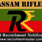 Assam Rifles Recruitment Notification 2019