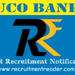UCO Bank Recruitment Notification