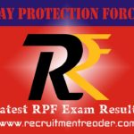 RPF Exam Result 2019