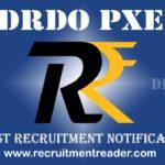 DRDO PXE Recruitment Notification