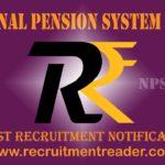NPS Trust Recruitment Notification