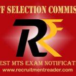 SSC MTS Exam Notification