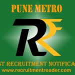 Pune Metro Recruitment Notification