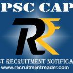 UPSC CAPF Exam Notification