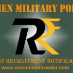 Women Military Police Recruitment