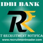 IDBI Bank Assistant Manager Recruitment