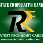PSCB Admit Card