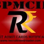 SPMCIL Admit Card