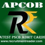 APCOB Admit Card