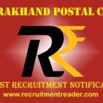 Uttarakhand Postal Recruitment