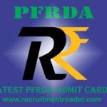 PFRDA Admit Card